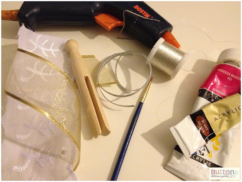 How to make a peg fairy