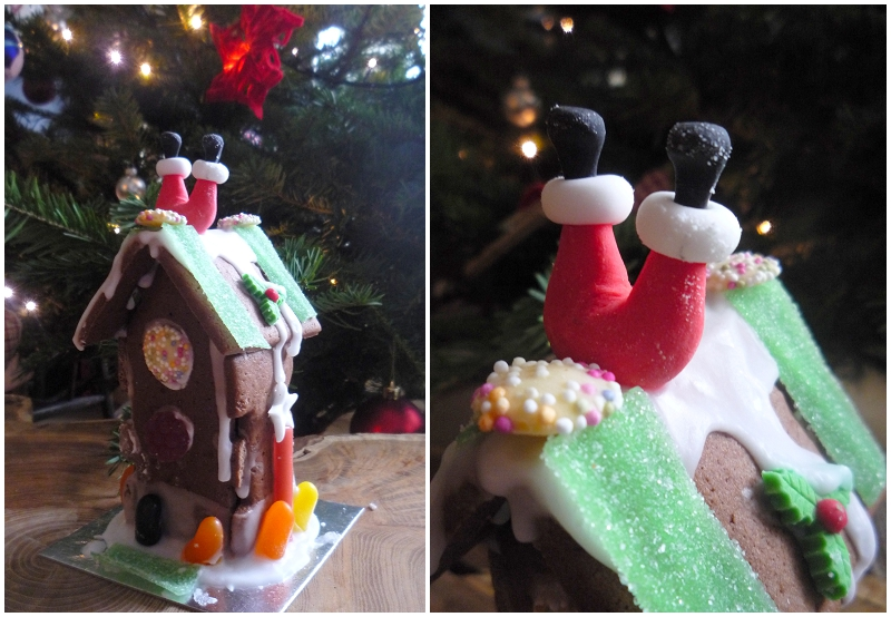 Chocolate Biscuit Christmas House