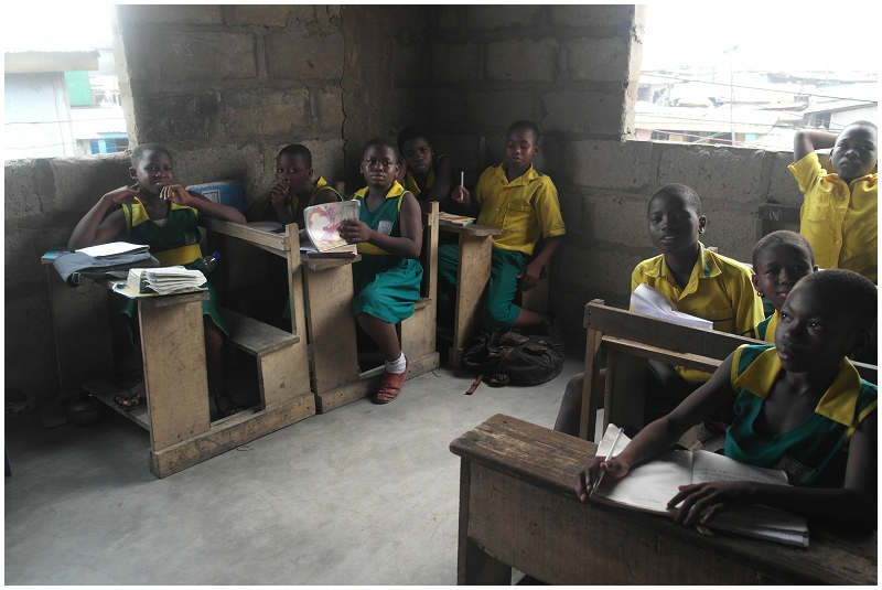 School In Accra - Gana