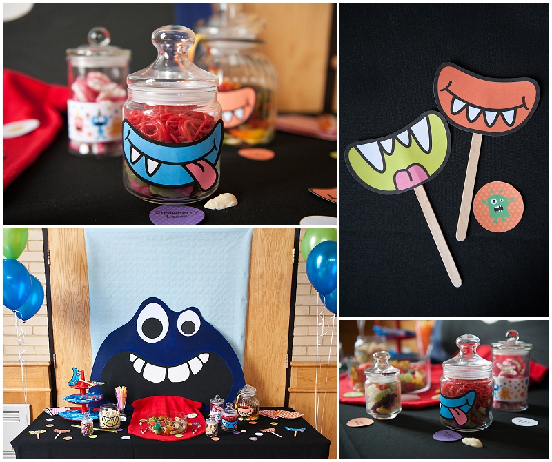 Monster Sweetie Table