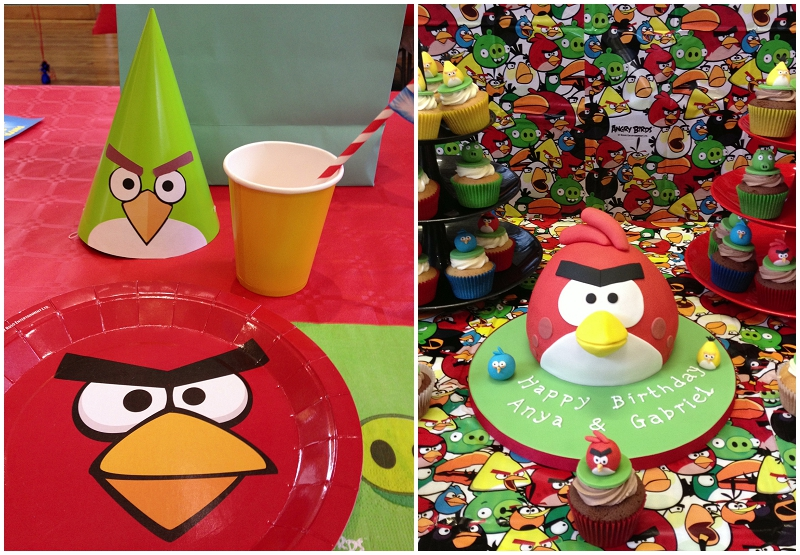 Angry birds birthday party ellie kelly blog for Angry bird birthday decoration ideas