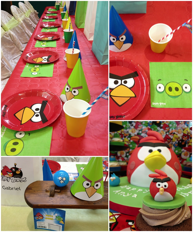 Angry birds birthday party ellie kelly blog for Angry birds party decoration ideas