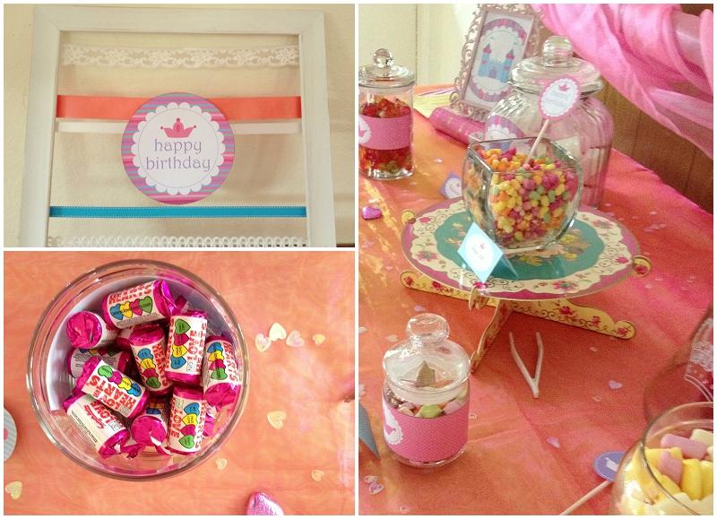 Princess Sweetie Table