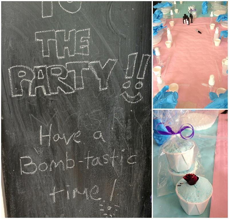 Bath Bomb party