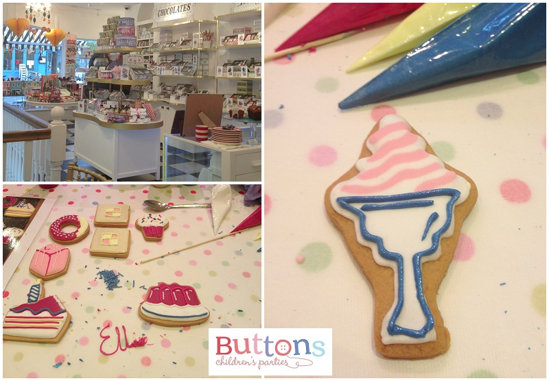Biscuiteers workshop