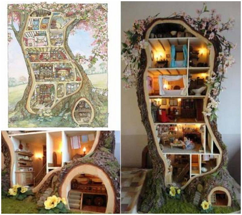 Amazing mouse tree house | Ellie Kelly Blog