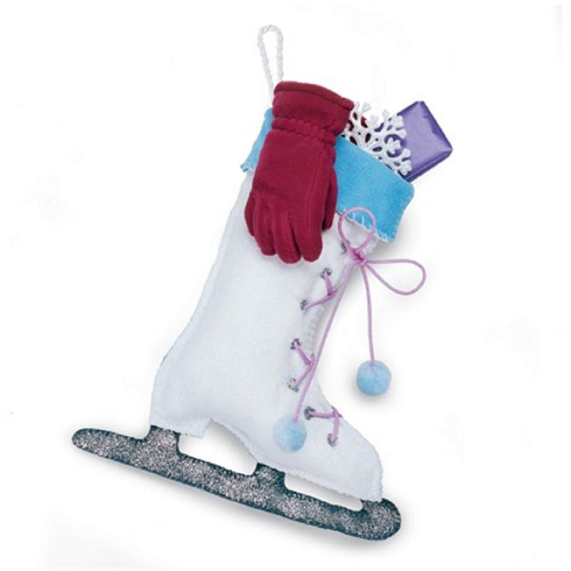 Ice Skate Stocking