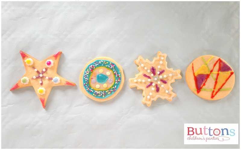 Biscuit Decorating