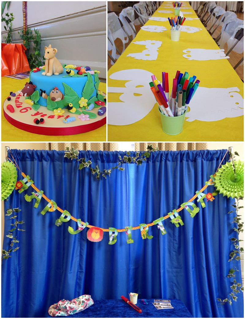 Lion King Themed Party Ellie Kelly Blog
