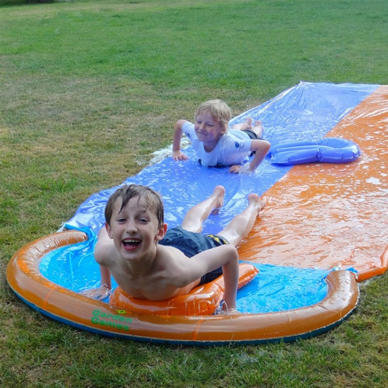 Inflatable Slide Paddling Pool: Children's Water Games For Summer
