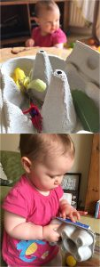 Baby nature play