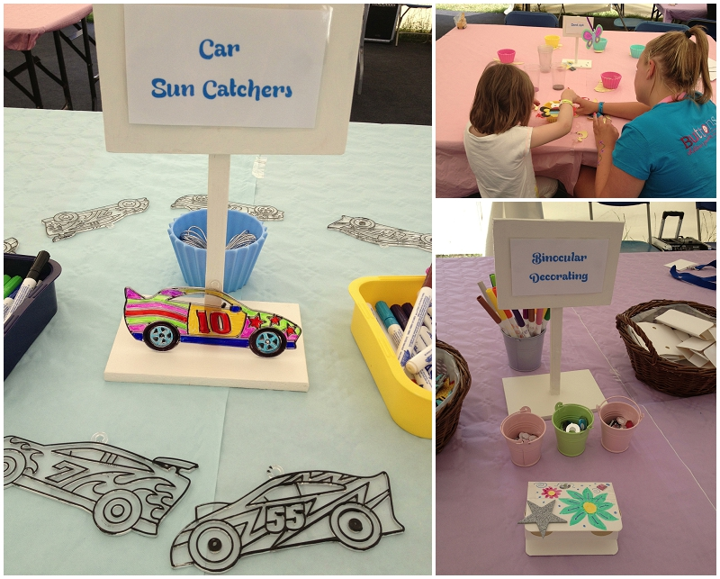 Car sun catchers, sand art and much more