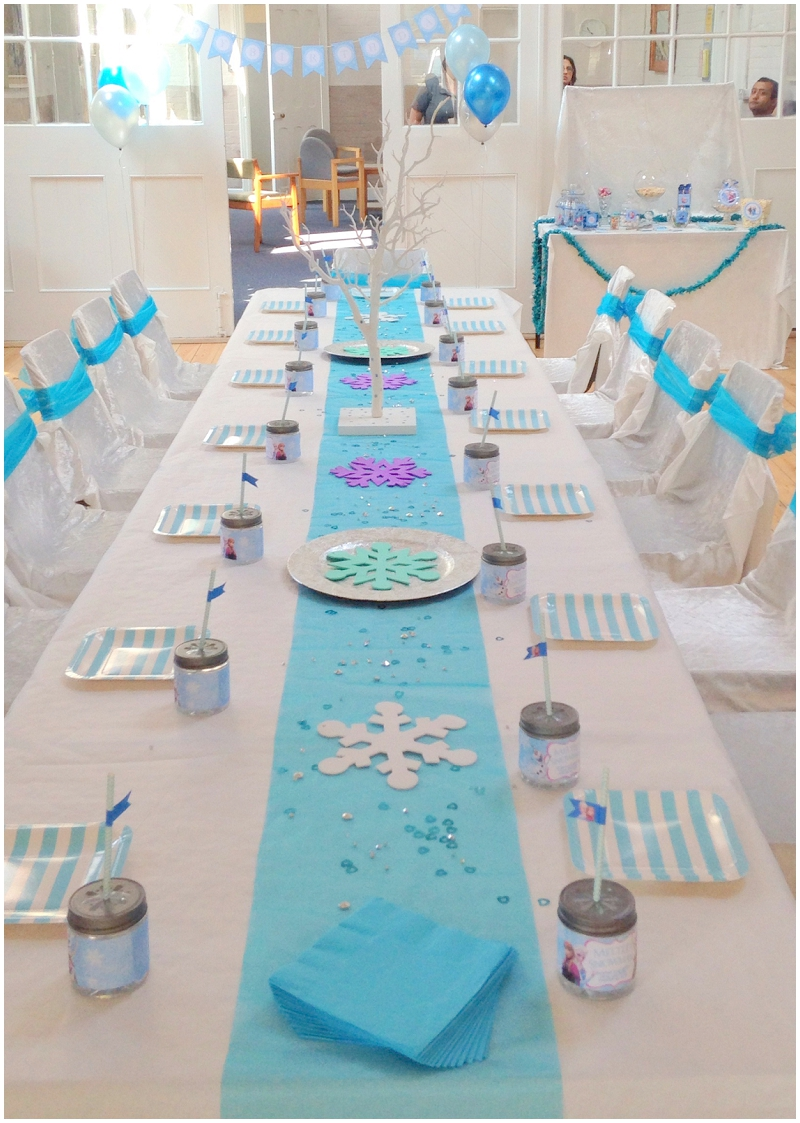Frozen birthday party Ellie Kelly Blog