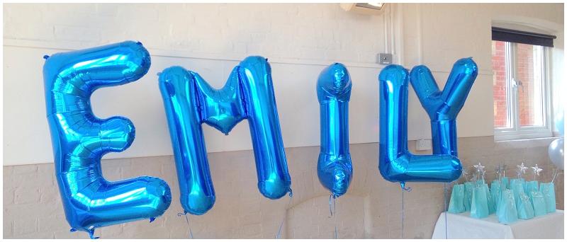 Frozen Balloons