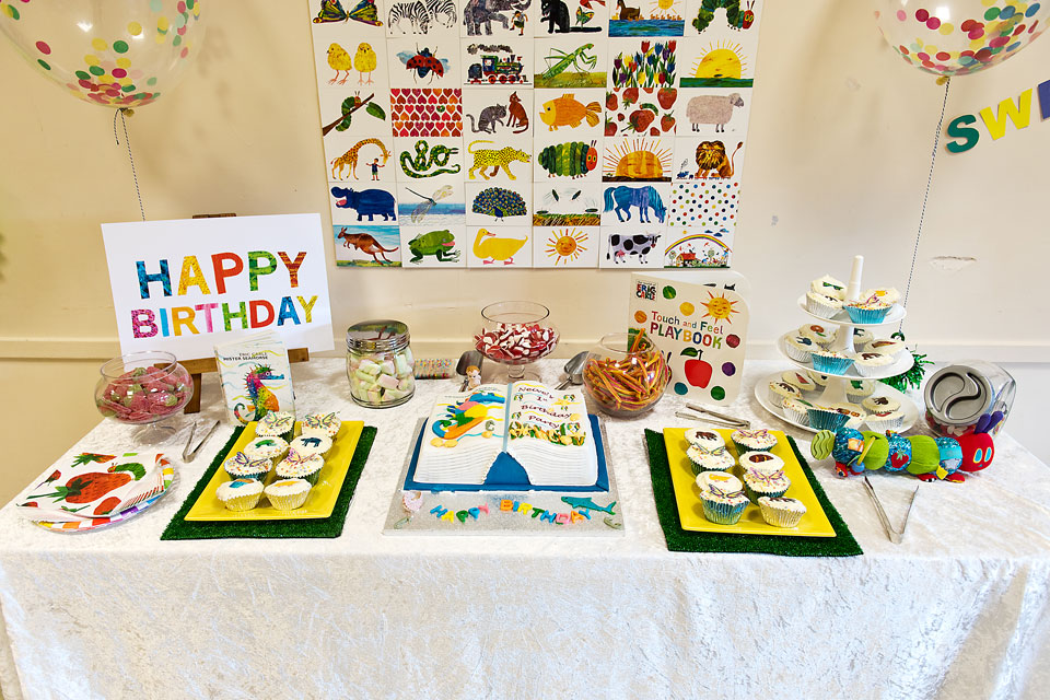 Eric Carle Birthday Cake