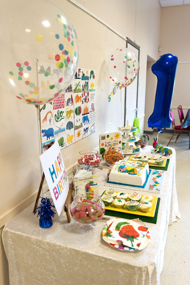 Eric Carle 1st Birthday Party